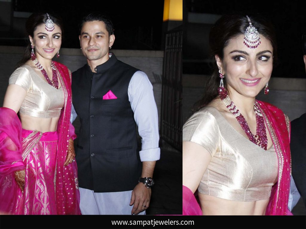 Soha Ali khan Wedding jewlery