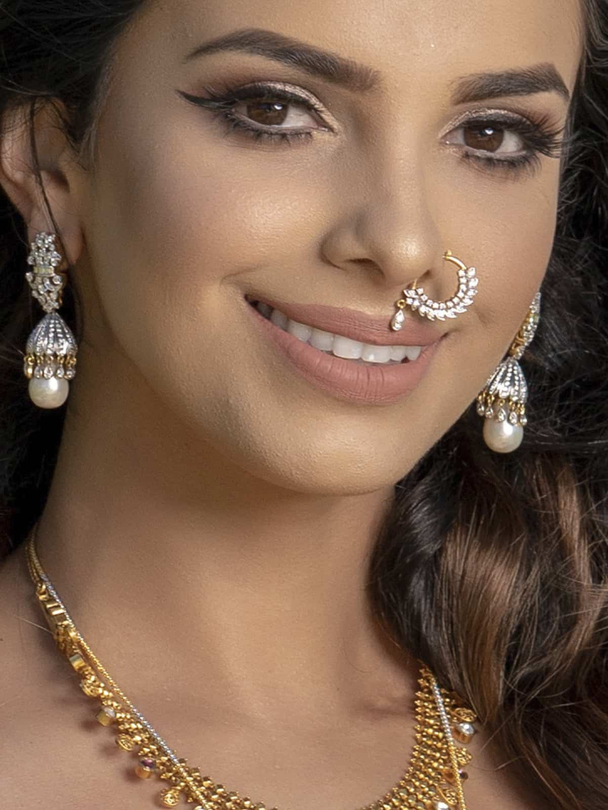 Feather Hoop Nose Ring