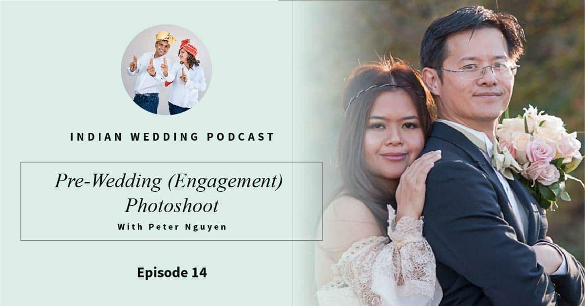 Pre-wedding engagement photoshoot with Peter Nguyen